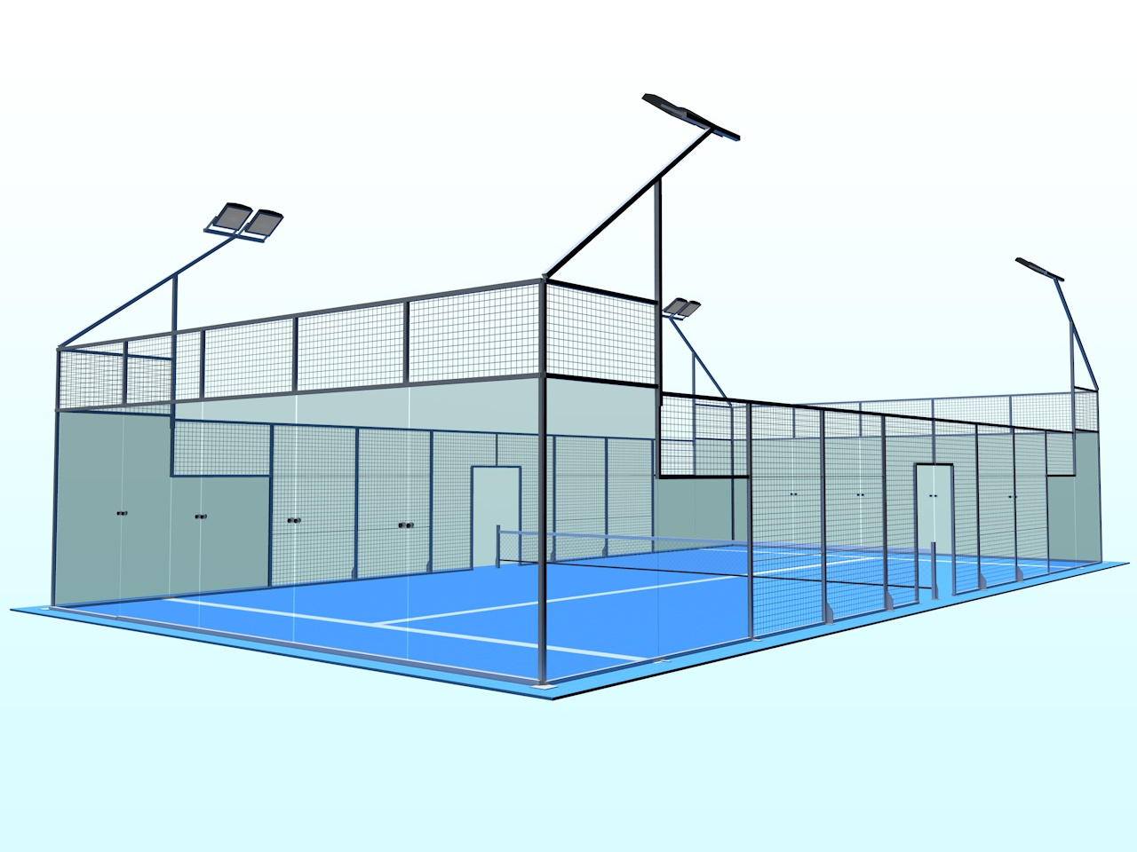 Representación 3D de Panorama Pro, n3